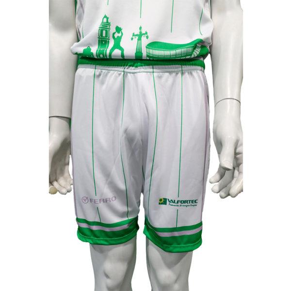 Pantalones de juego blancos
